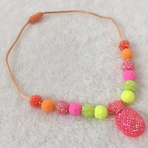 Colorful & Sparkling Pineapple Fruits necklace